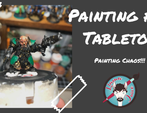 Painting for Tabletop – Painting Chaos!!!